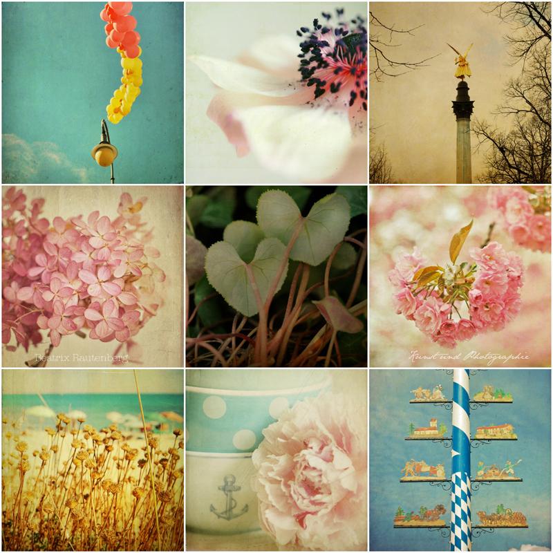 Bunte Mischung - Collage aus Photographien